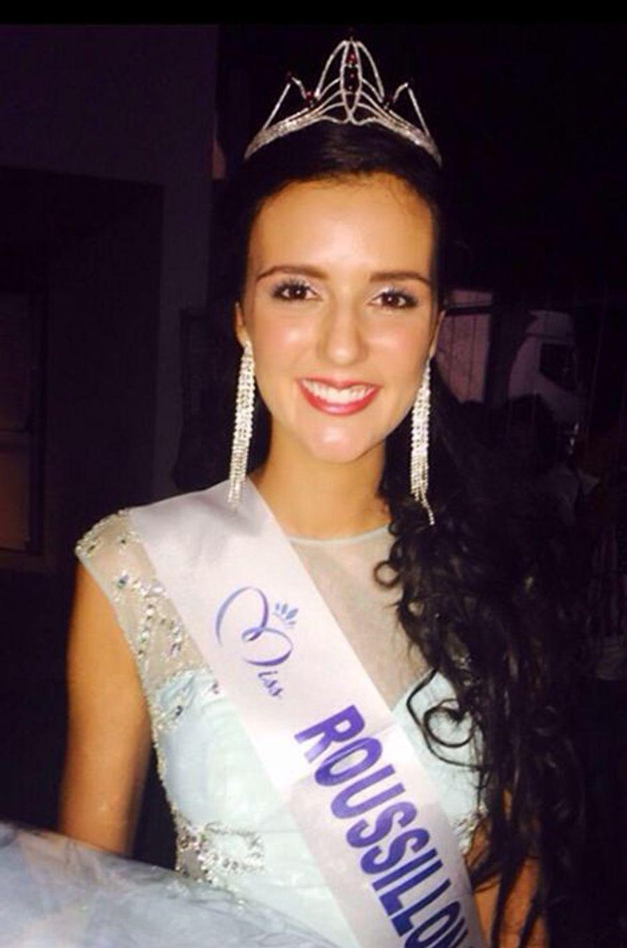 Miss Roussillon - Anaïs Marin (21 ans - 1,78 m) - Étudiante en langues et civilisations étrangères