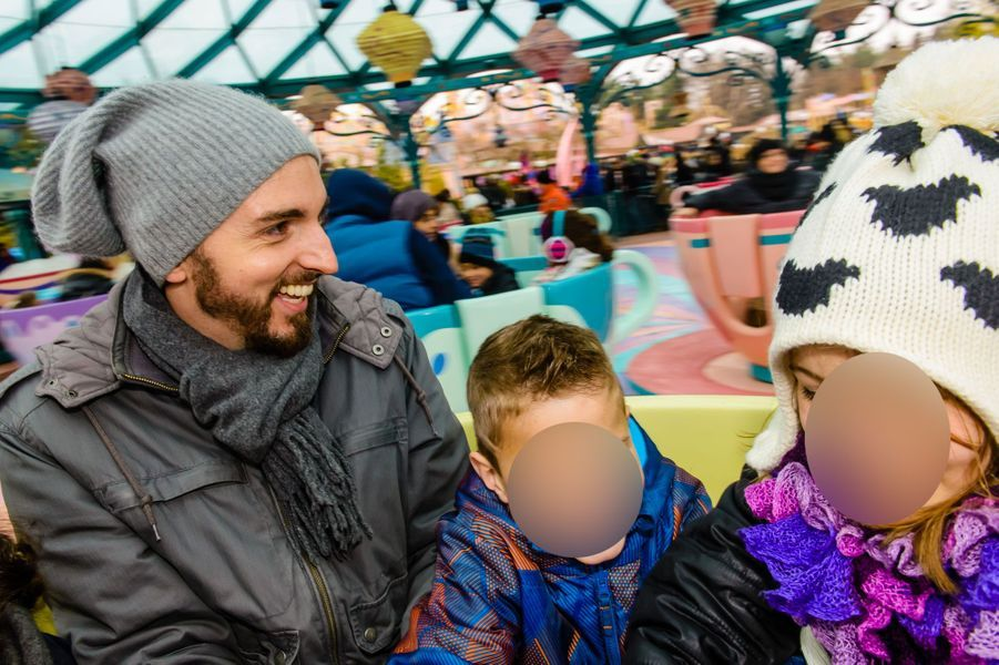 Christophe Willem à Disneyland Paris