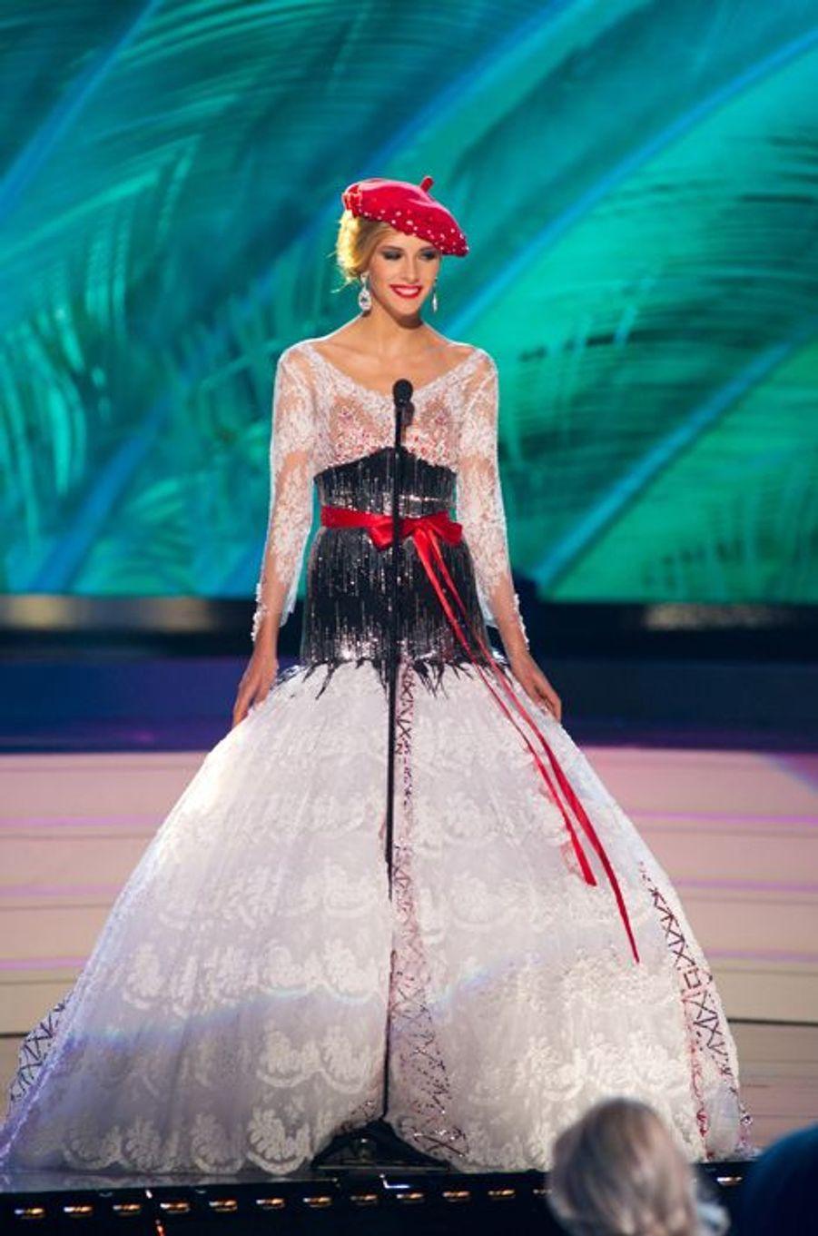 Au concours Miss Univers en janvier 2015