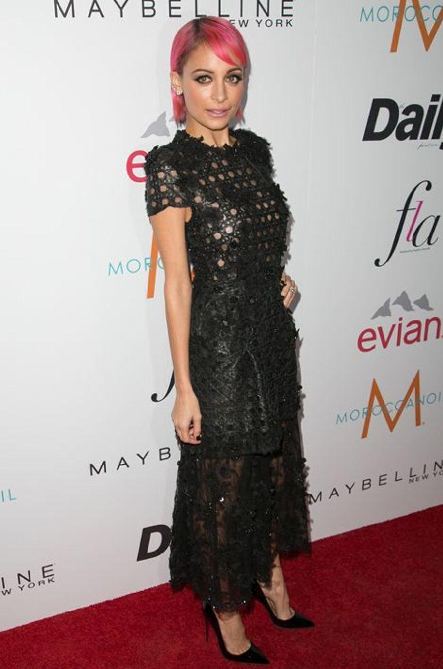 La styliste Nicole Richie aux Fashion Los Angeles Awards