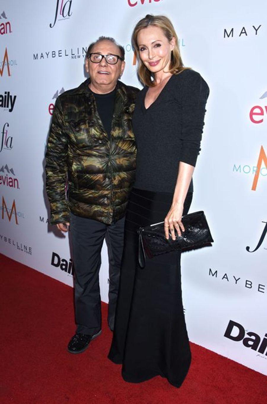 Le couple Azria mis à l'honneur aux Fashion Los Angeles Awards