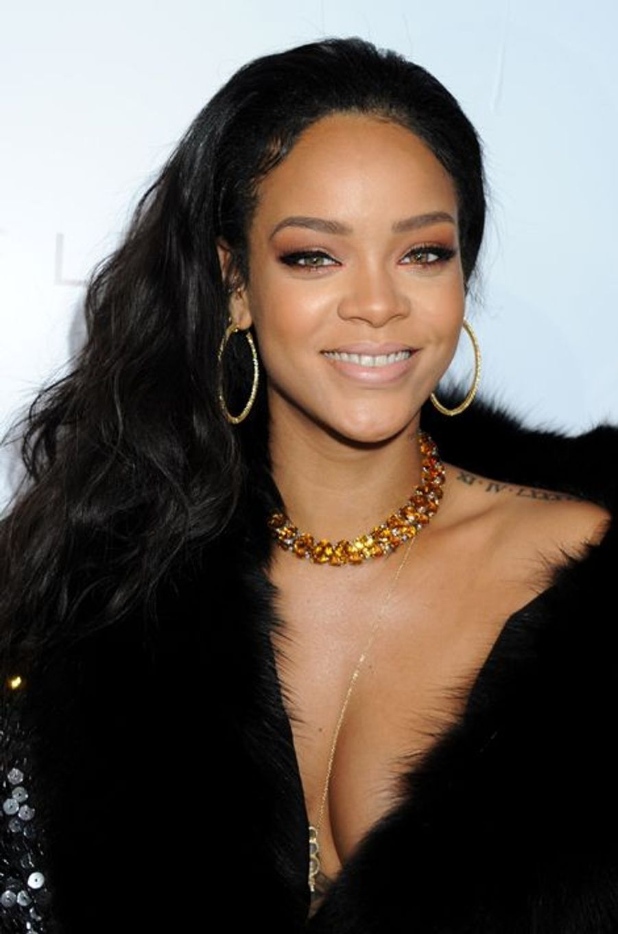 Rihanna à Los Angeles le 22 janvier 2015