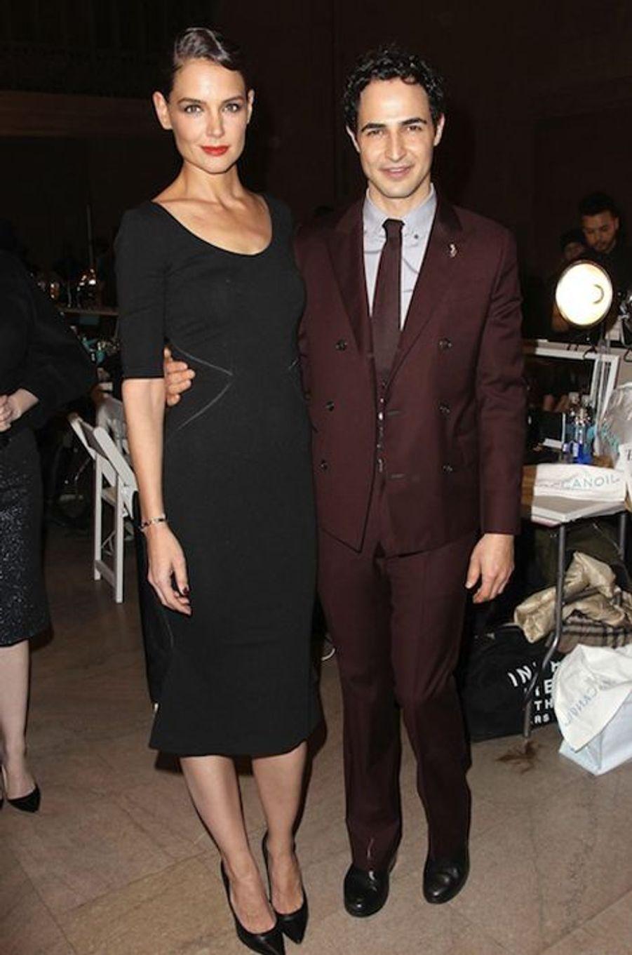 Katie Holmes et Zac Posen