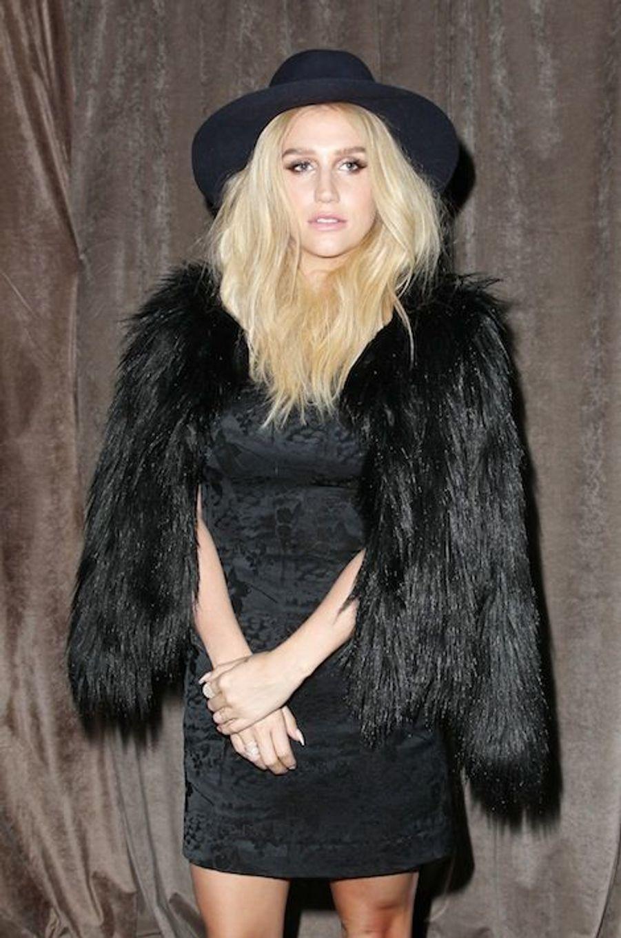 Kesha au défilé Zac Posen