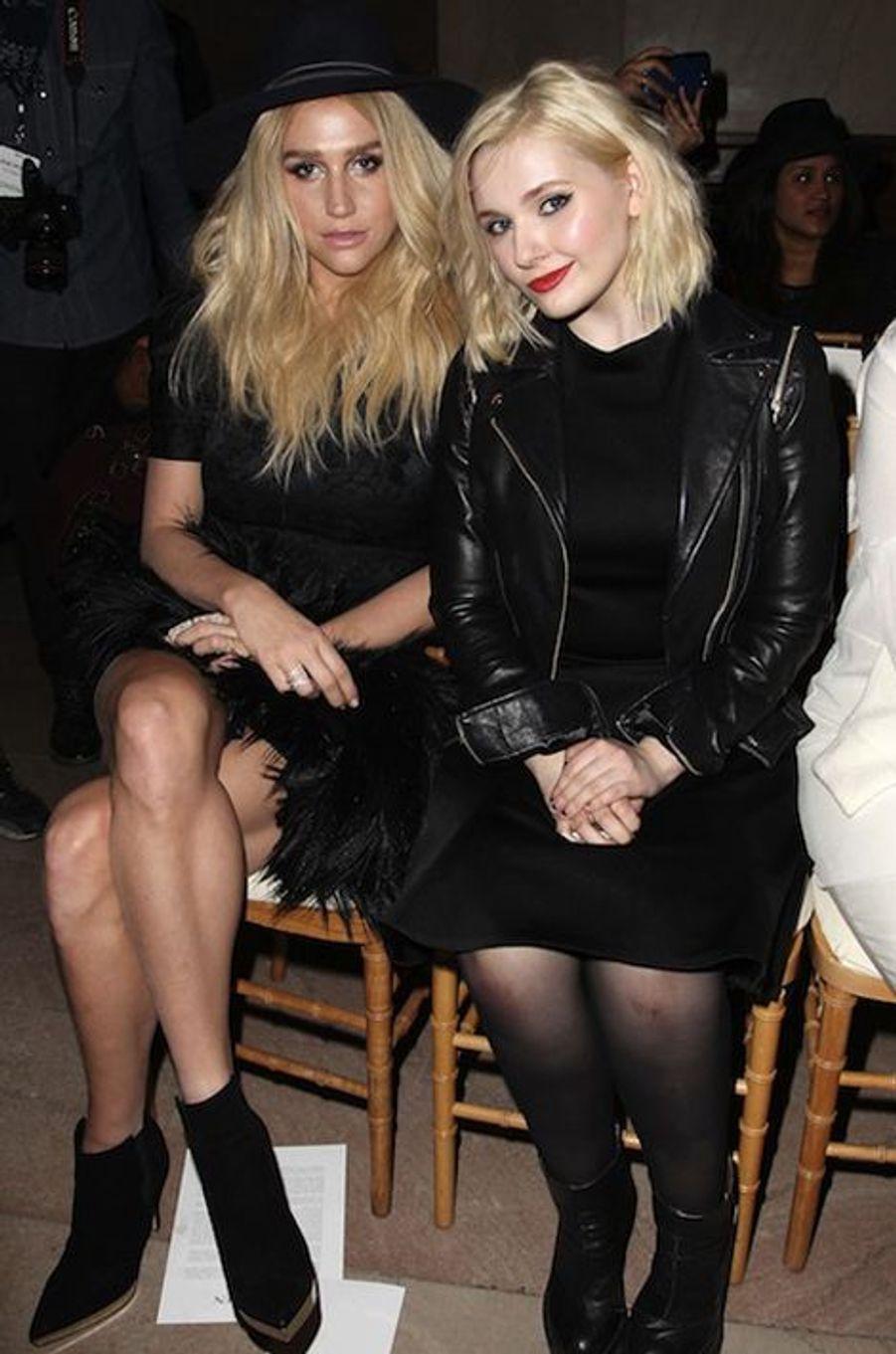 Kesha et Abigail Breslin