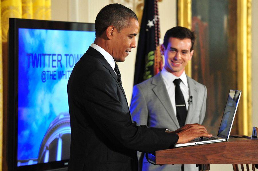 3 - Barack Obama est suivi par près de 57 millions de followers