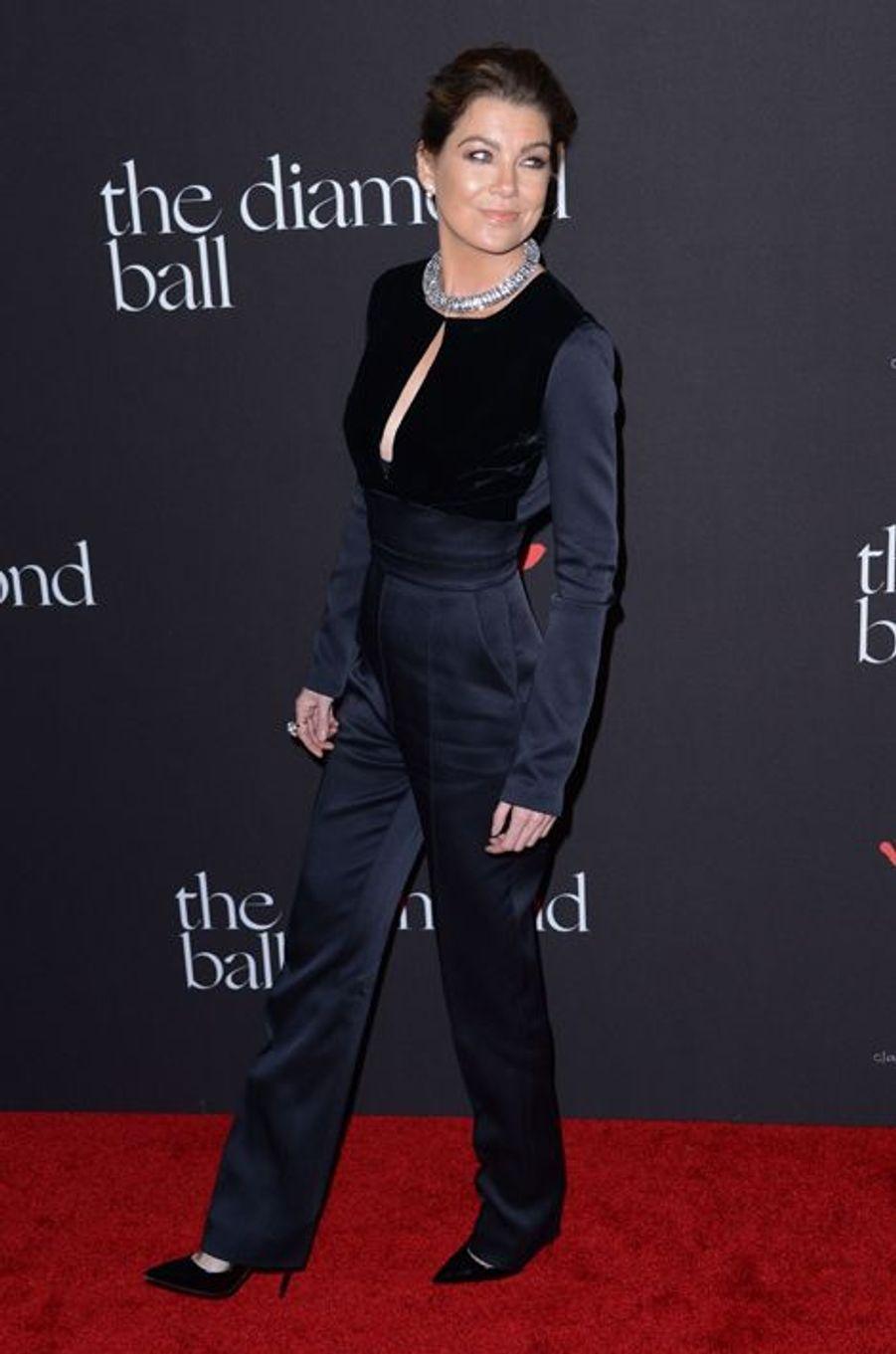 Ellen Pompeo à Los Angeles le 11 décembre 2014