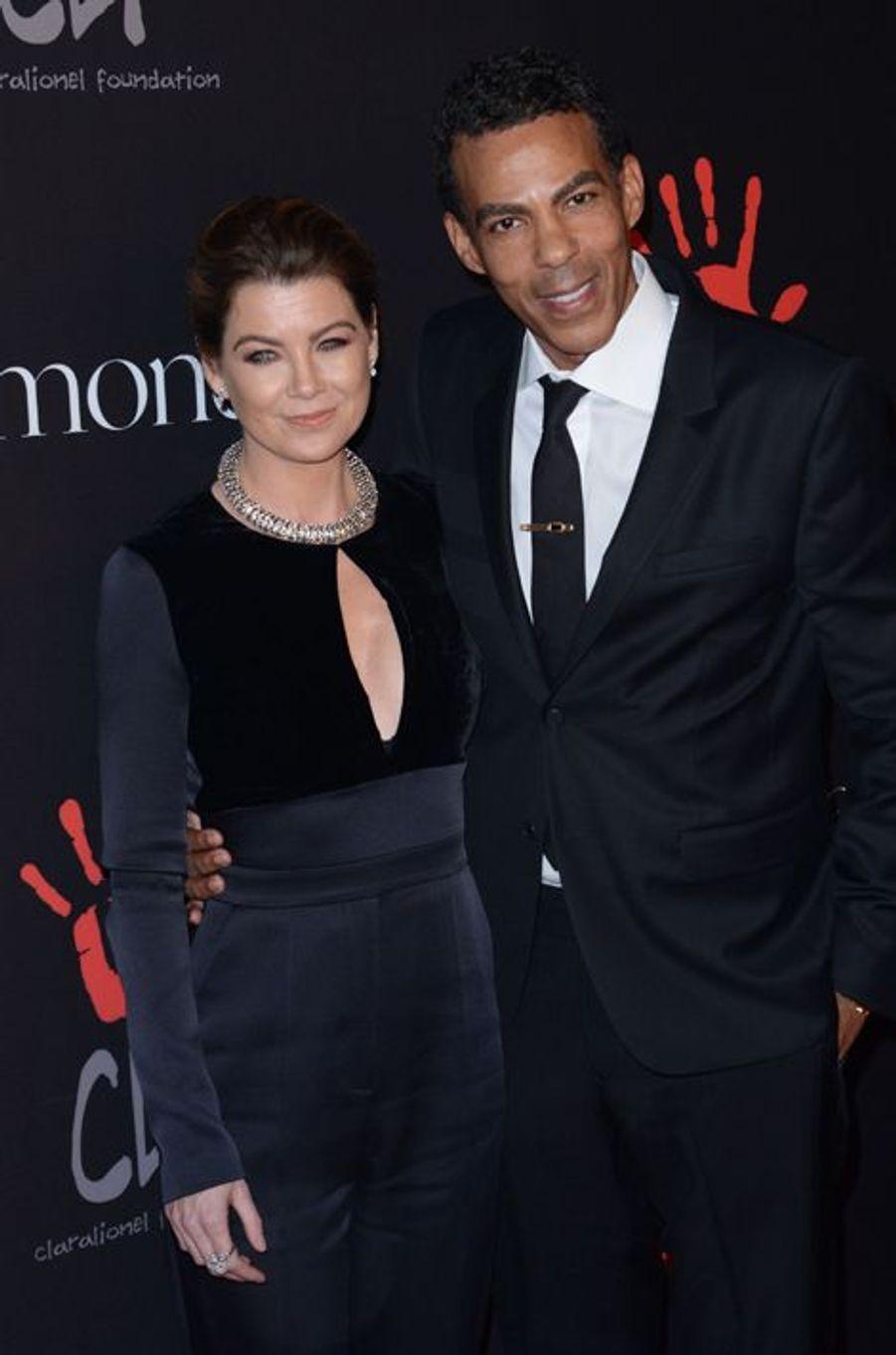 Ellen Pompeo et Chris Ivery à Los Angeles le 11 décembre 2014