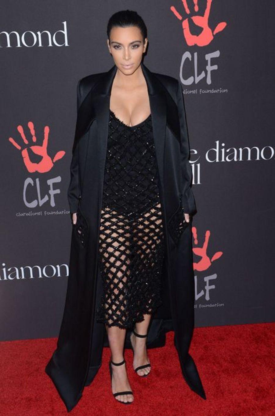Kim Kardashian à Los Angeles le 11 décembre 2014