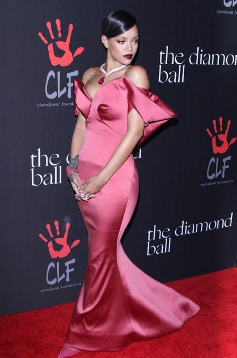 Rihanna à Los Angeles le 11 décembre 2014