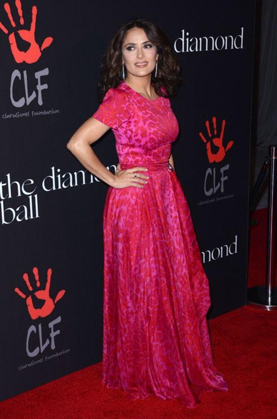 Salma Hayek à Los Angeles le 11 décembre 2014