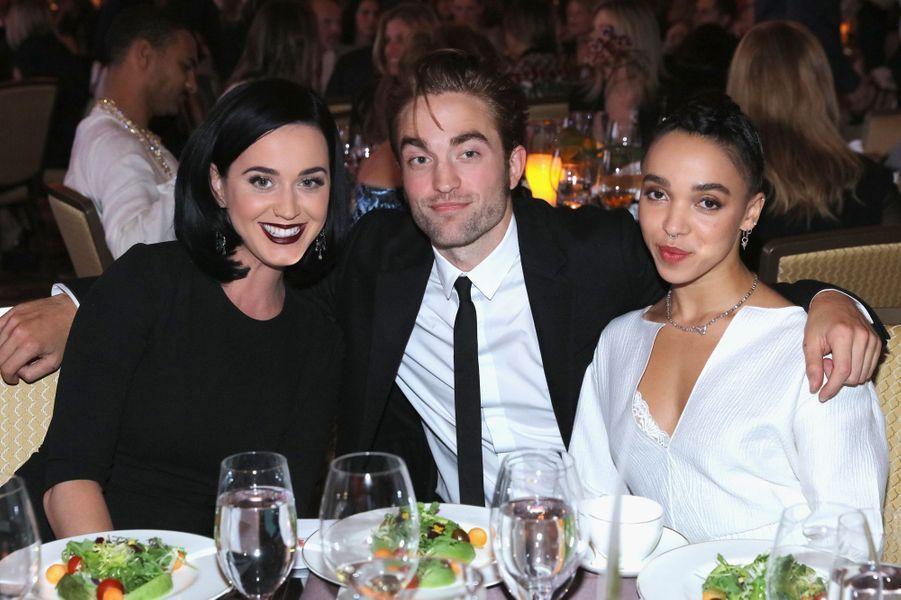 Katy Perry, Robert Pattinson et FKA Twigs
