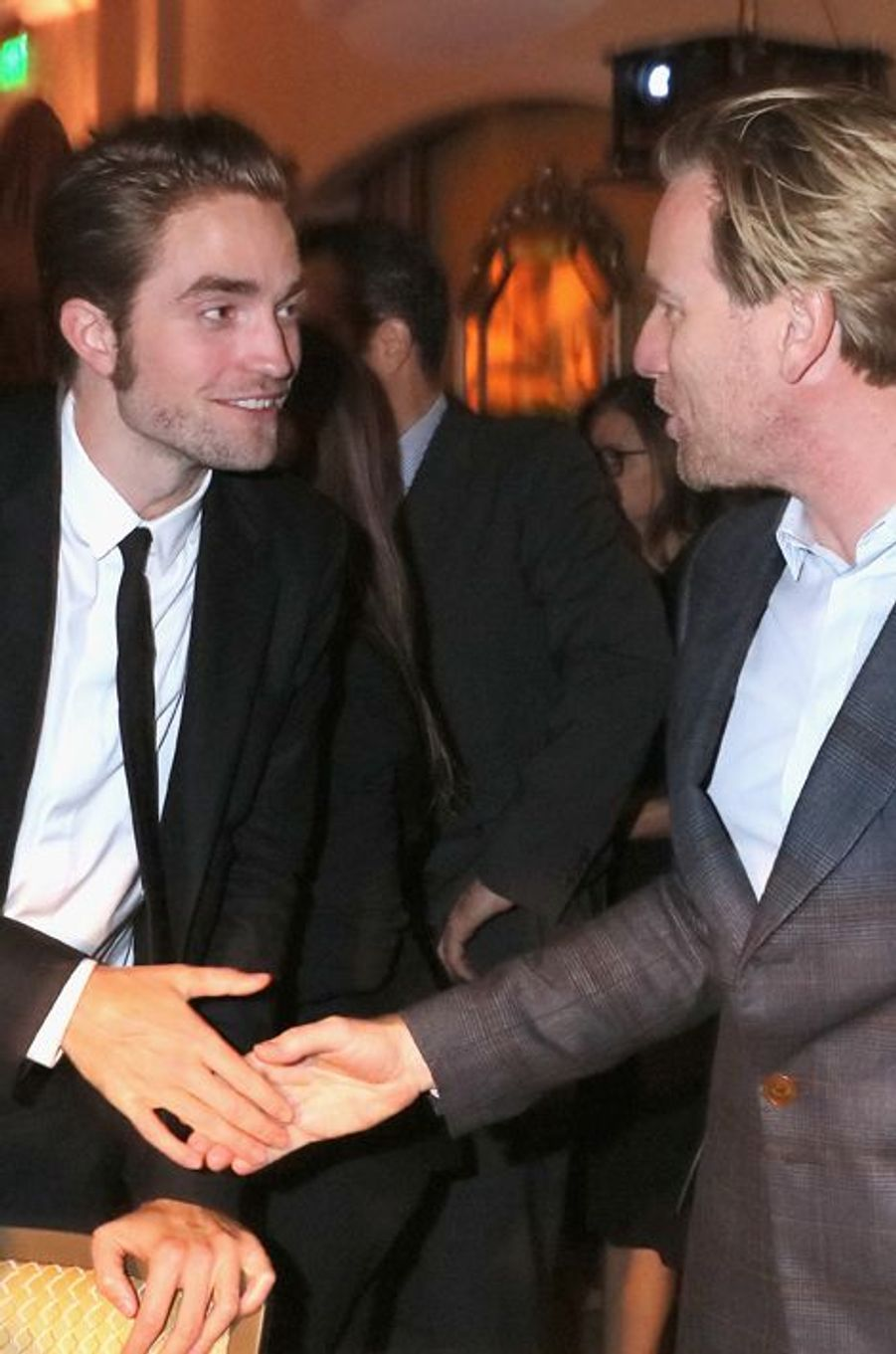 Robert Pattinson et Ewan McGregor