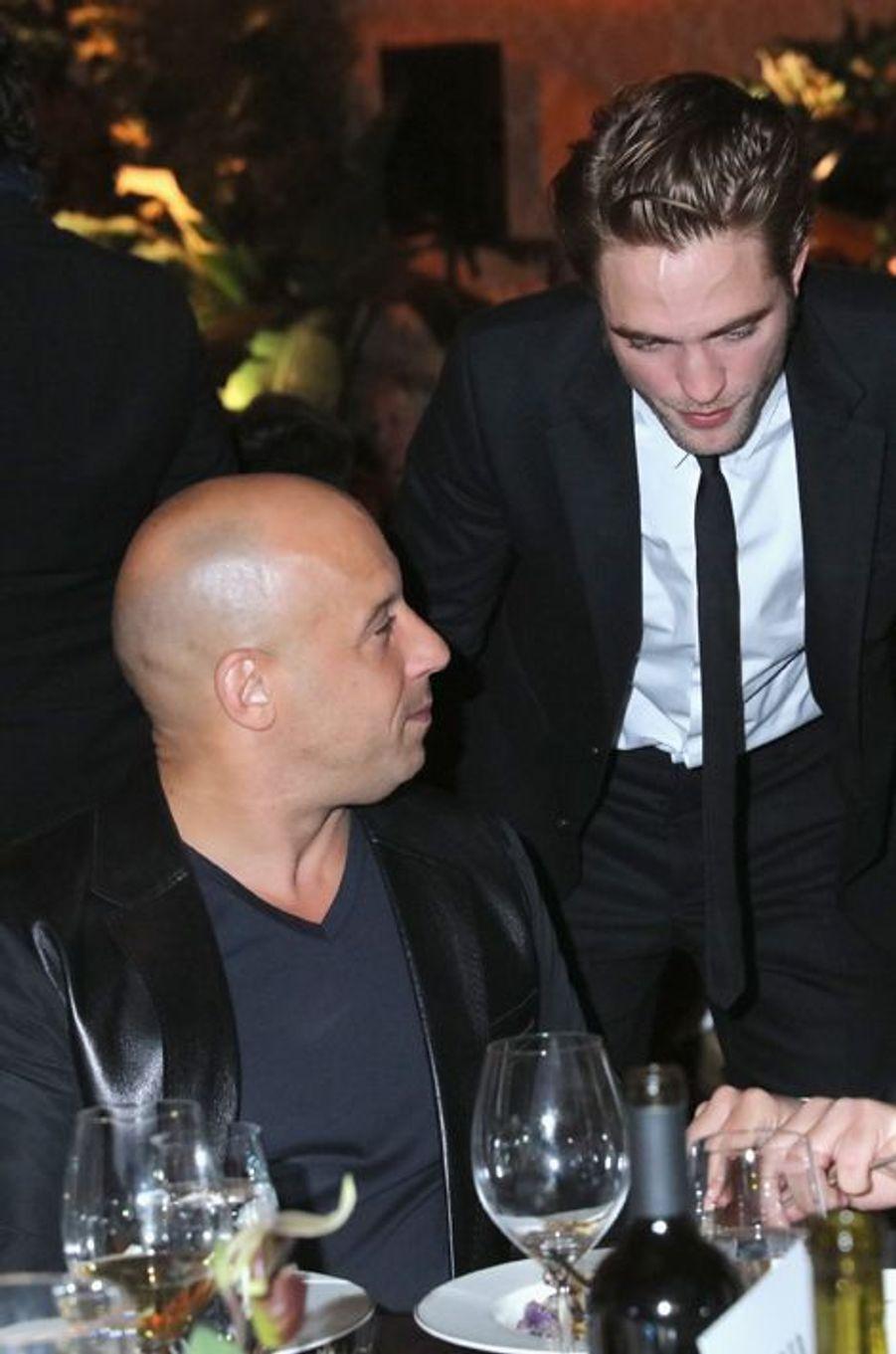 Vin Diesel et Robert Pattinson