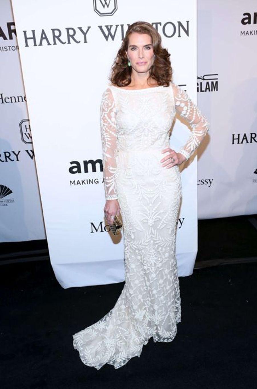 Brooke Shields au gala de l'amfAR
