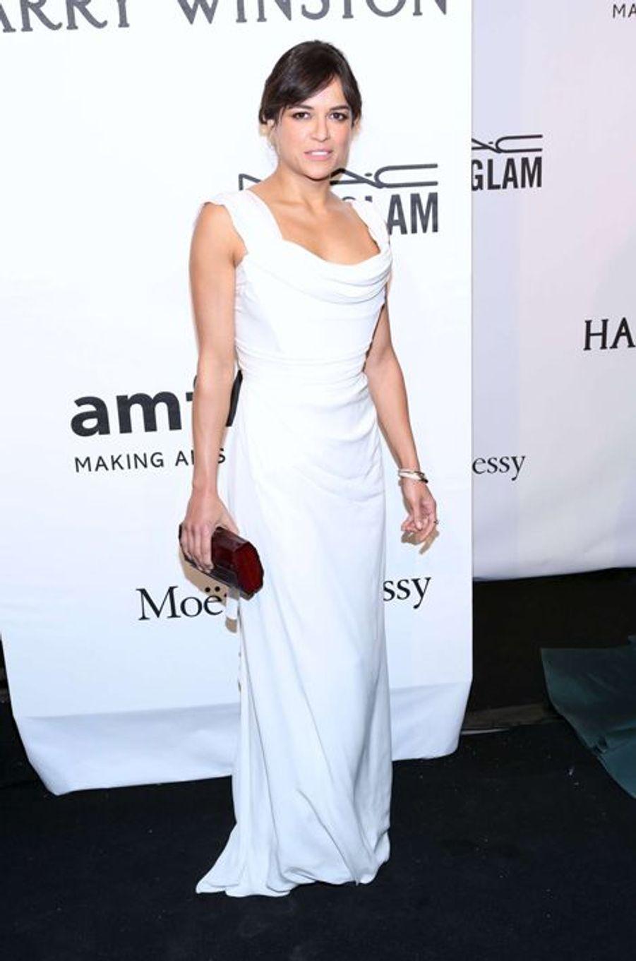 Michelle Rodriguez au gala de l'amfAR