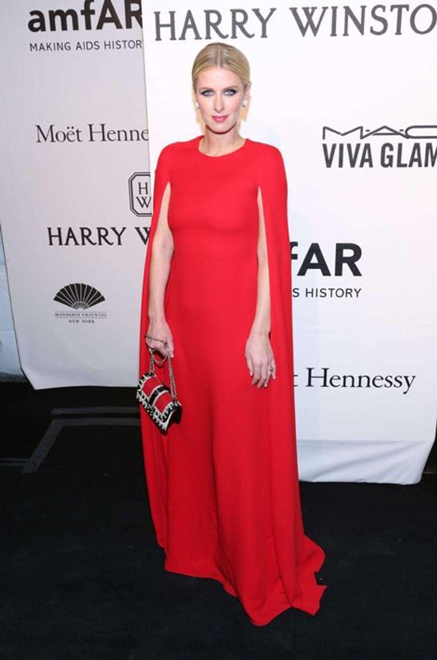 Nicky Hilton au gala de l'amfAR