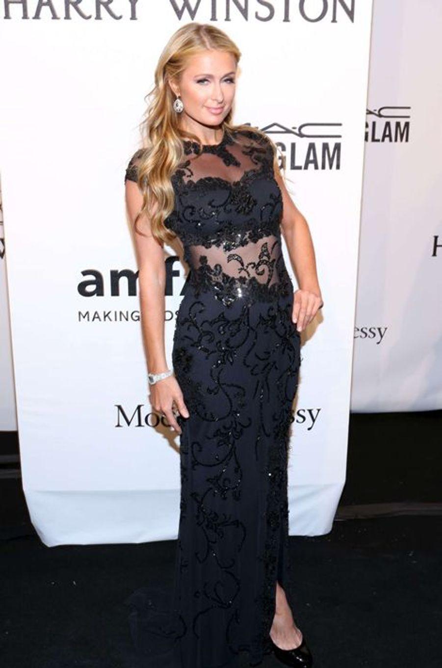 Paris Hilton au gala de l'amfAR