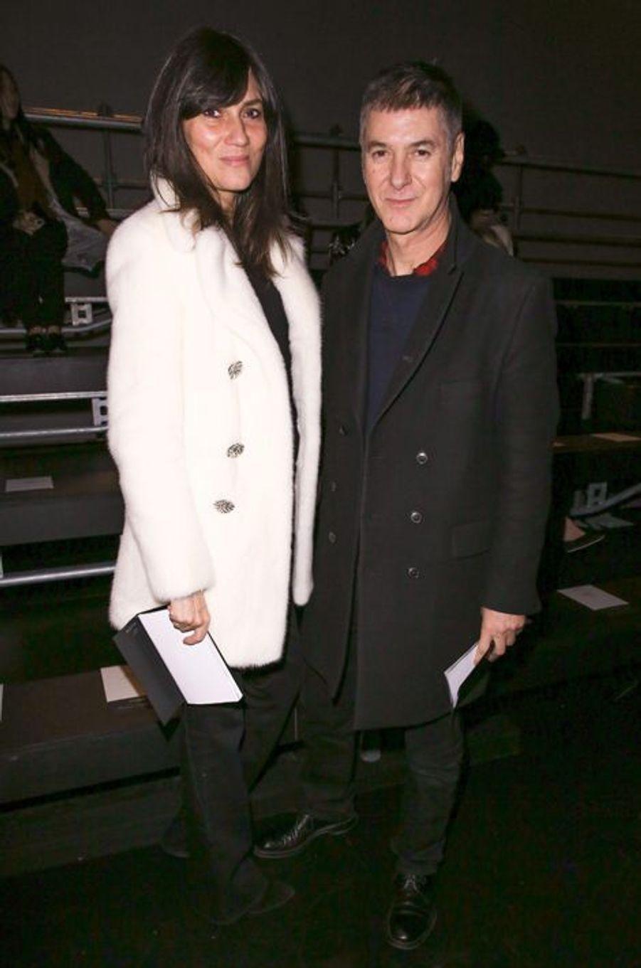 Emmanuelle Alt du Vogue Paris et Etienne Daho