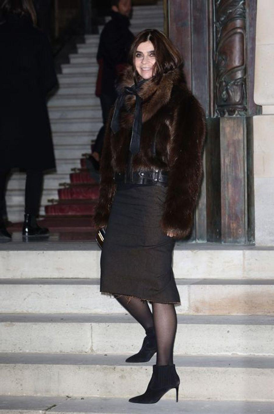 L'ancienne rédactrice en chef du Vogue Paris, Carine Roitfeld