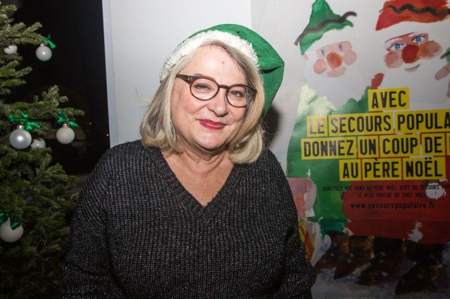 Josiane Balasko à Paris le 8 décembre 2014