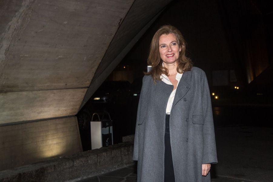 Valérie Trierweiler à Paris le 8 décembre 2014