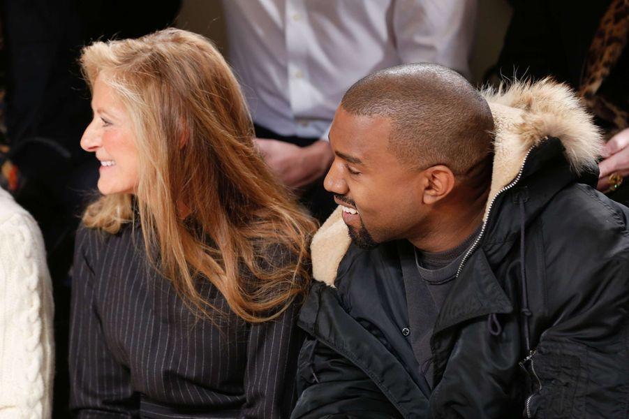 Ricky Lauren et Kanye West au défilé Ralph Lauren