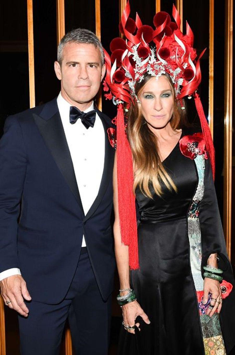 Andy Cohen et Sarah Jessica Parker