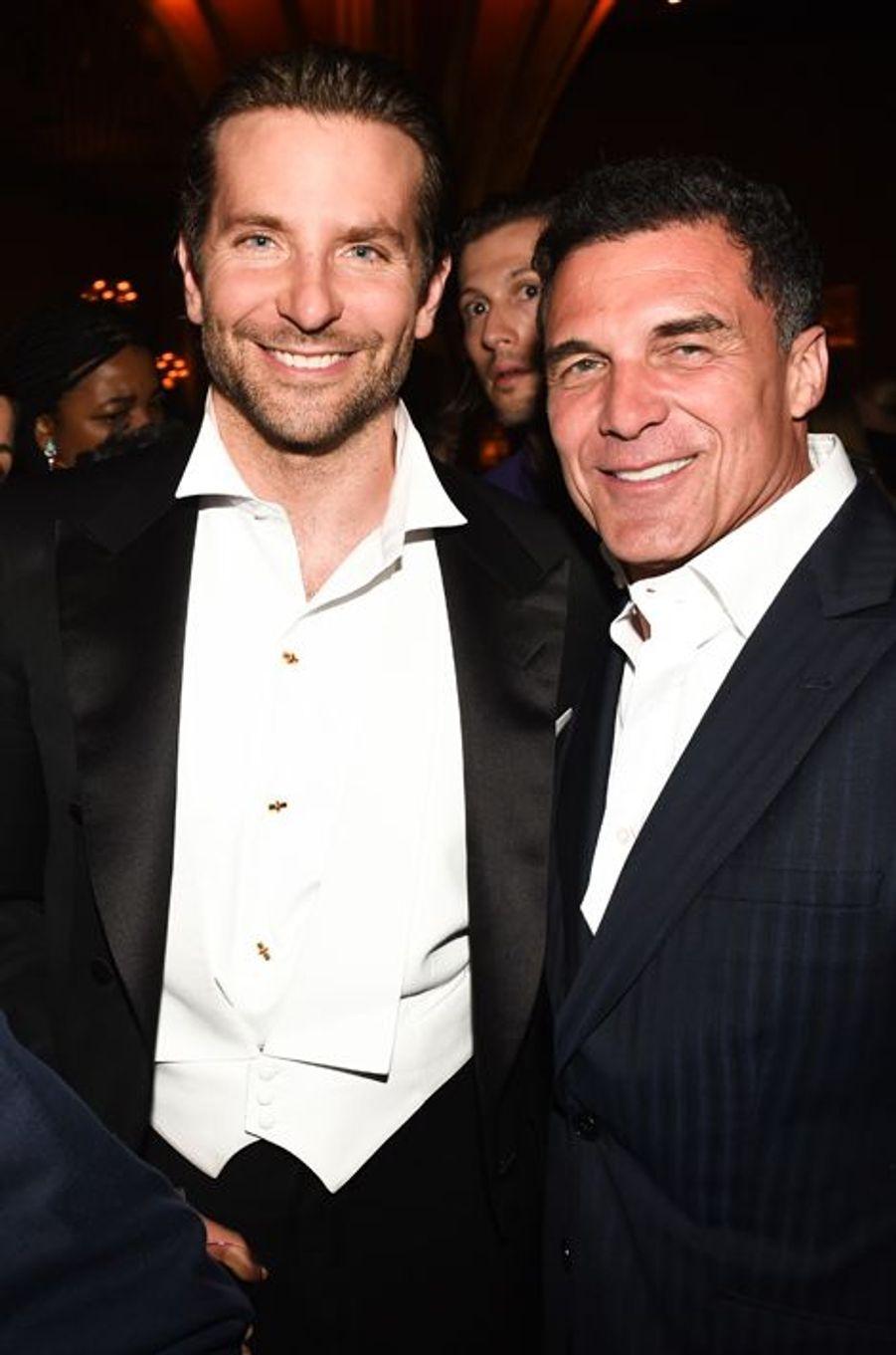 Bradley Cooper et Andre Balazs
