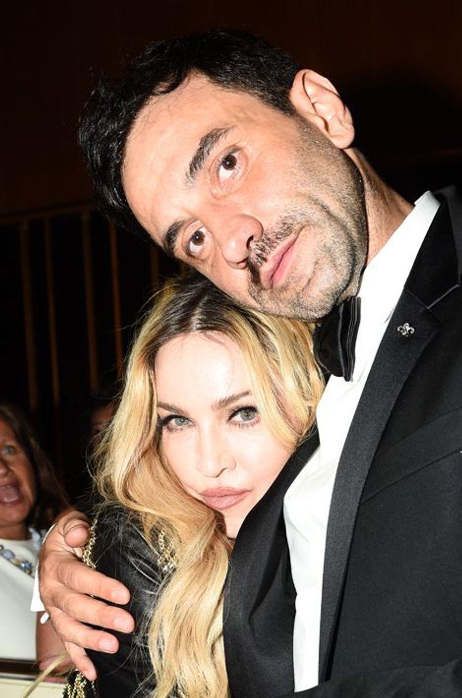 Madonna et Riccardo Tisci
