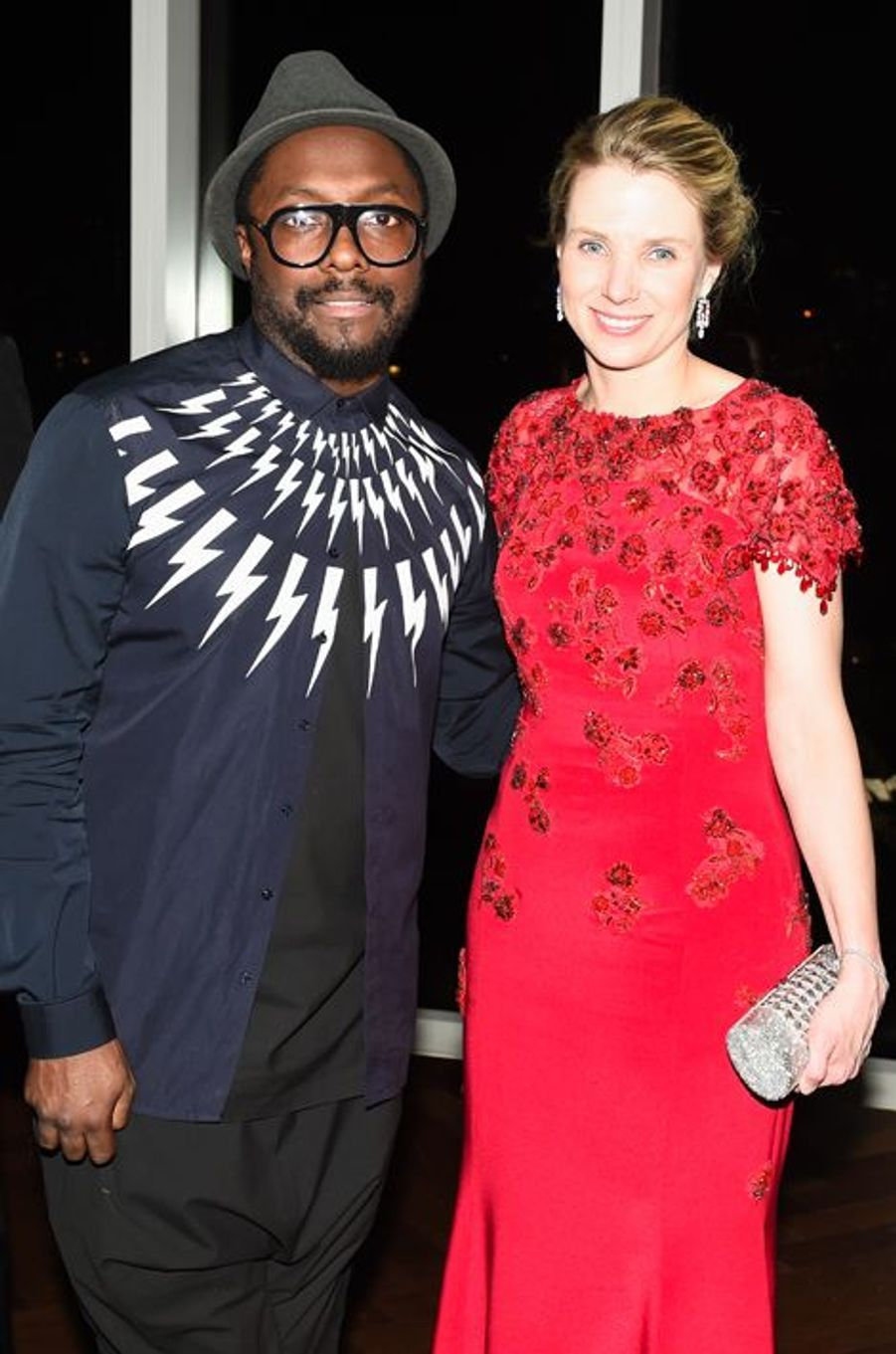 will.i.am et Marissa Mayer