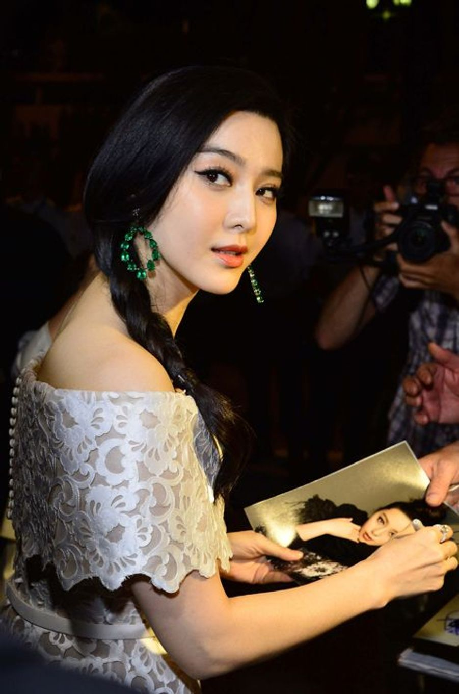 L'actrice et chanteuse chinoise Li Bingbing
