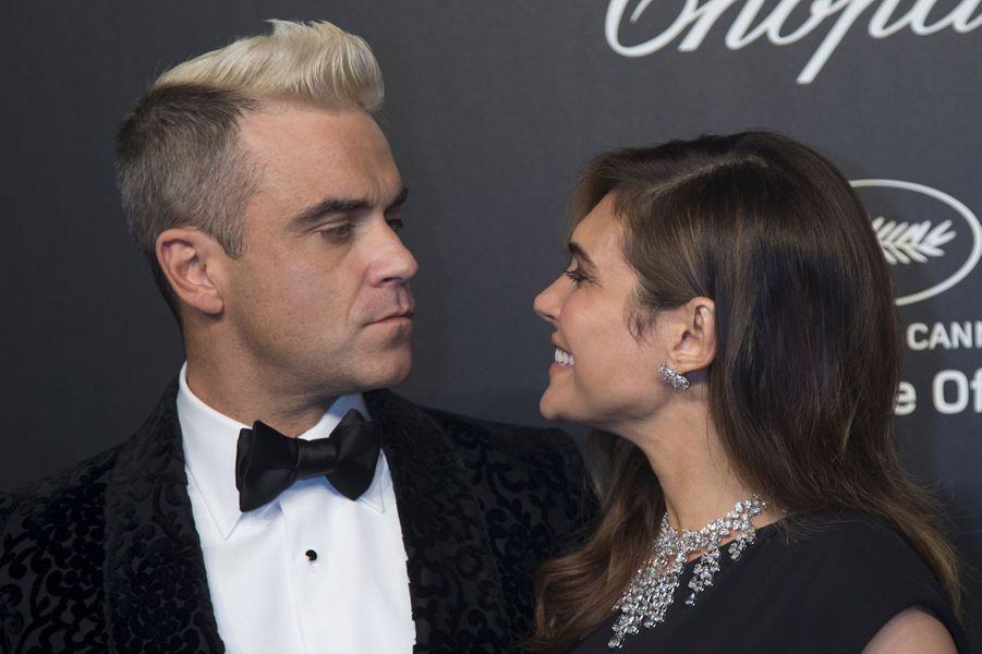 Robbie Williams et son épouse Ayda Field