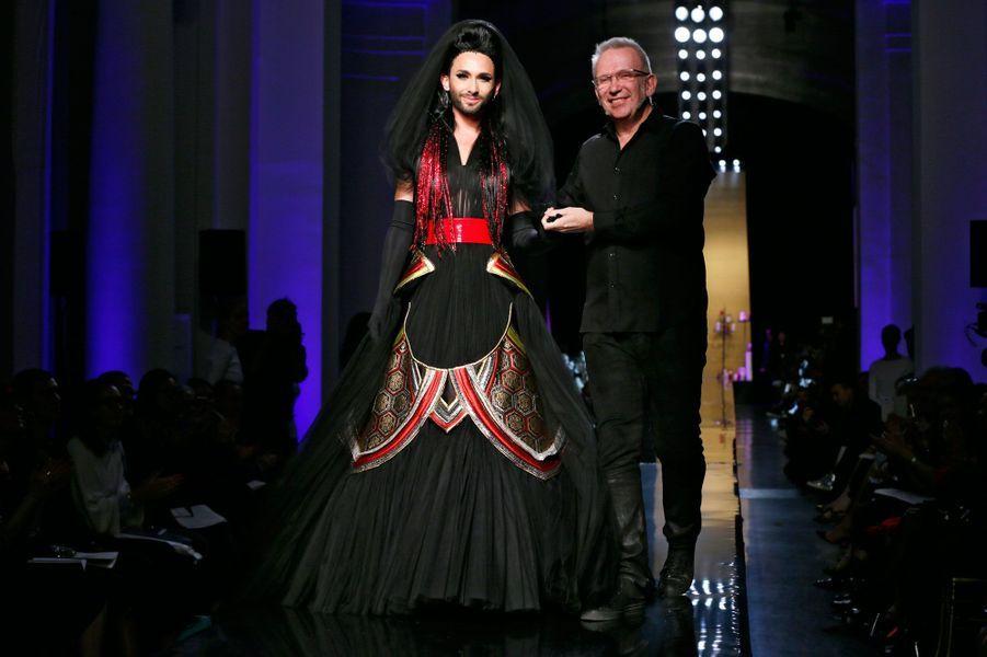 Christian Dior et Conchita Wurst
