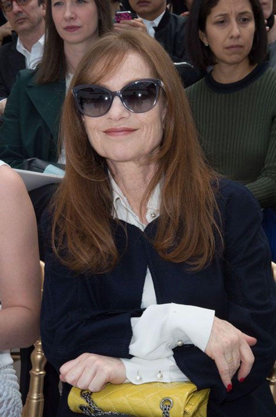 Isabelle Huppert chez Chanel