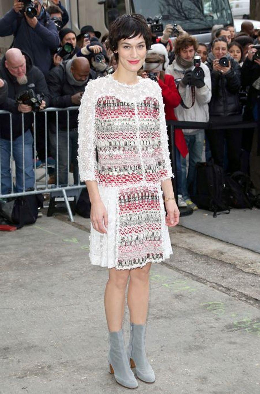 Clotilde Helme au défilé Chanel Haute-Couture