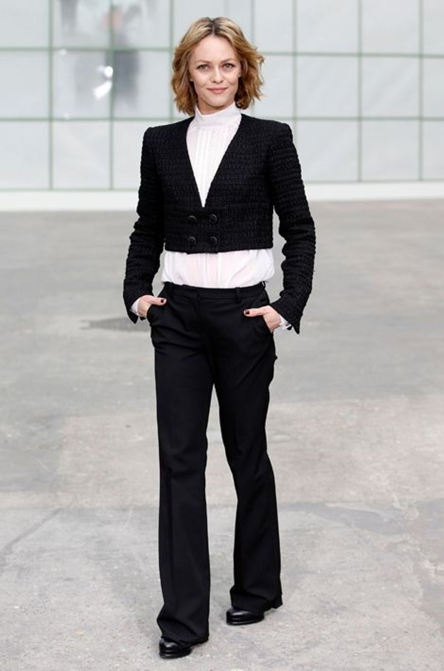 Vanessa Paradis au défilé Chanel Haute-Couture