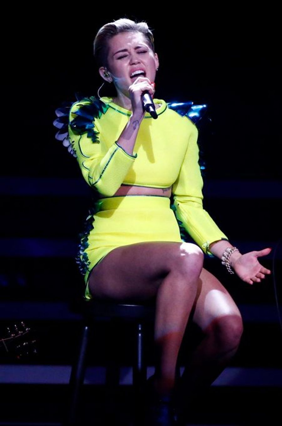 Pas de provocation cette fois-ci, Miley Cyrus est restée sage à Berlin.