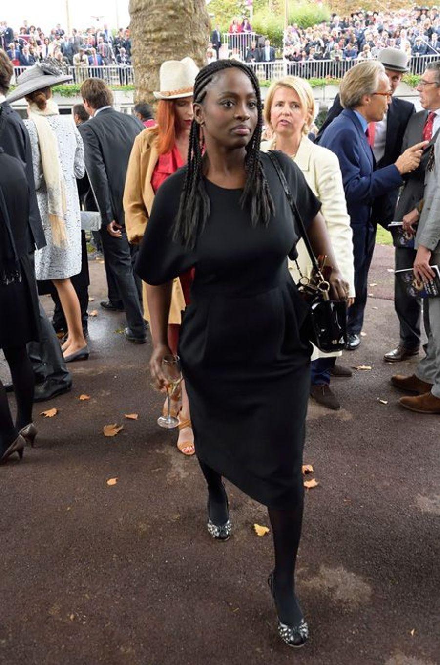 Aïssa Maïga au prix Qatar Arc de Triomphe