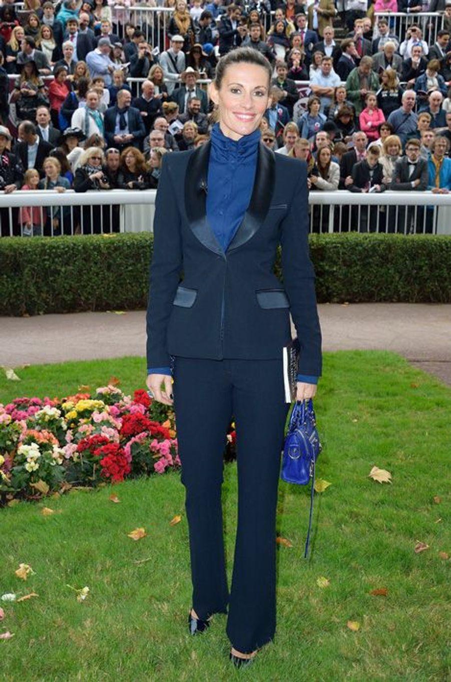 Sophie Thalmann au prix Qatar Arc de Triomphe