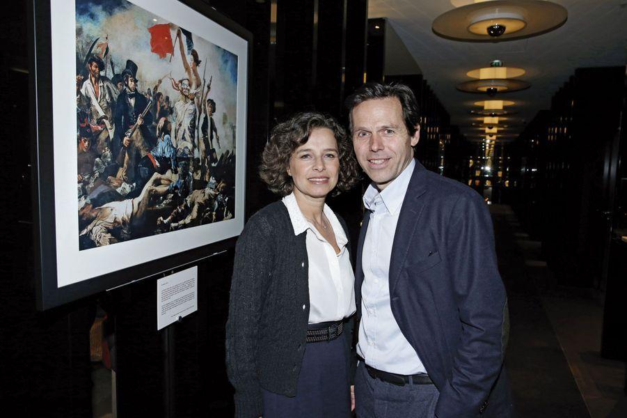 Sandrine et Lionel Pissarro