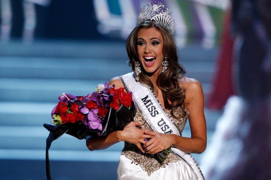 L'élection de Miss USA a eu lieu dimanche soir à Las Vegas. Elle a été emportée par la Miss Connecticut, Erin Brady, une financière de 25 ans. Elle va donc mener la grande vie à New York pendant une année et représenter son pays au concours de Miss Univers.