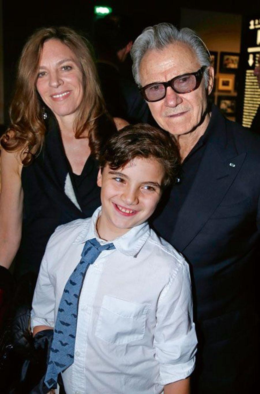 Daphna Kastner, Harvey Keitel et leur fils, Roman.
