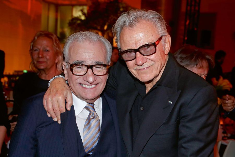 Martin Scorsese, Harvey Keitel.