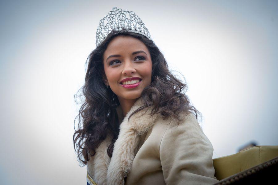 Flora Coquerel, retour dans sa ville de Morancey, le 18 décembre 2013