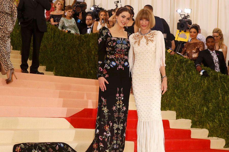 Anna Wintour et sa fille