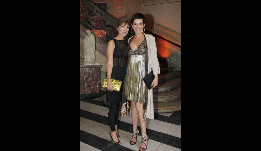 Mathilde Meyer (Dior) et Cristina Cordula, ex-mannequin chez Chanel.