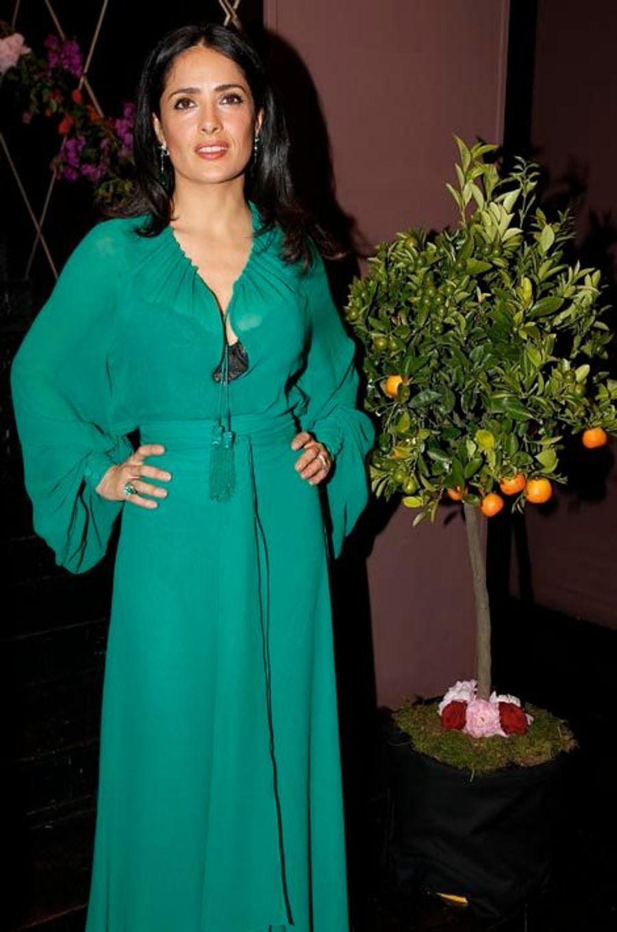 Gala. Salma Hayek adore les p'tits cracks