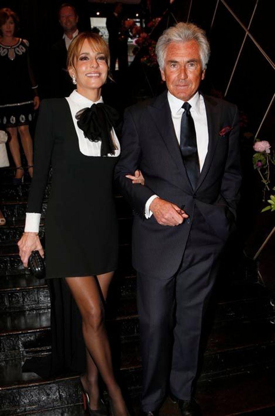 Patricia d'Arenberg et son fiancé Jean-Paul Enthoven.