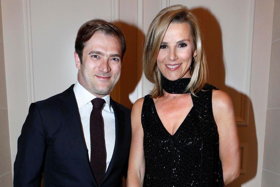 Couple d'amoureux : Renaud Capuçon et Laurence Ferrari.